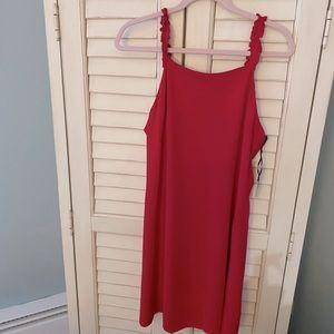 TWIK Red Dress size L